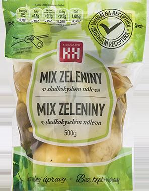 Mix nakladanej zeleniny