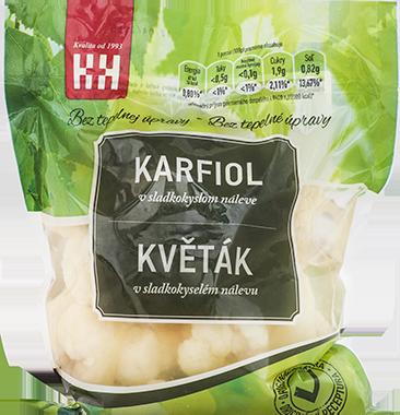 Karfiol v sladkokyslom náleve